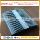 High power cheap price ceramic mill finish aluminum hollow enclosure 50w heat sink for led