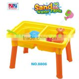 Plastic Summer Beach Toys Table Set For Kids Beach Toys With Mini shovel,Bucket,Windmill Toy Set