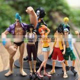 hot One Piece anime japan plastic action figures/custom make movable action figure toys/China factory OEM action figure toys