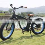 7-speed electric bicycle lithium battery powered with pedal assisted