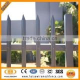 Security galvanized palisade fence and gate ( super quality )
