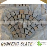 cut-to-size stone form and split surface finishing natural edge rusty culture stone rubber floor tiles slate
