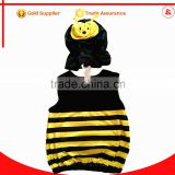 In stock cosplay party animal baby mascot costume child bee costume for baby boy