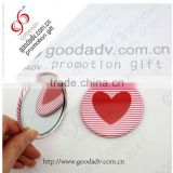 2014 Most popular promotion gifts for vip round pocket mirror / customized logo hand mirror