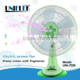 table installation electric cooling fan refresh air 3 speed rotary fan switch