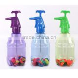 Plastic Water Pump Bottle with Ballon