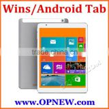 10.6 inch win8 Android 4.4 Quad Core Dual System intel tablet pc Intel 3735F 64bit processor IPS 1280*800 Capacitive Dual System