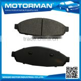 MOTORMAN Free Sample Available 100% tested best brand disc brake pad manufacturers D931-7834 for FORD CROWN VICTORIA