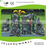 New Rock Climbing Wall with the Leaf Roof for sale used in School, Commercial Shop, Park and Home Outdoor Fitness Equipment