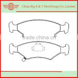wholesale Front Axle brake pads for KIA SEPHIA ceramic brake pad