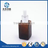 30ml square amber glass essential oil bottle                                                                                                         Supplier's Choice