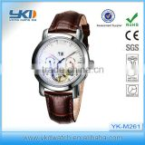 Ladies stainless steel leather watches ,fashion Ladies stainless steel leather watches company