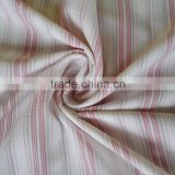 Wept knitted nylon spandex striped fabric for fashion garment, knitwear polyester nylon stripe fabric
