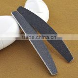 Fashion beauty 100/180 grit Nail File,OEM WF-1 Professional Black Wood disposable nail file and buffer for nail tools