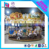 hot sale china playground equipment antique mini carousel for sale indoor playground items