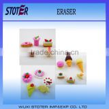 3D fruit eraser , promotional eraser,stationary