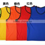 Child adult football mesh against vest mesh breathable training football t shirt