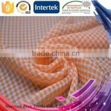 China direct manufacturer 100 polyester crepe chiffon fabric with cation hot for leisure shirt
