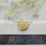 Wholesale organza with gold edge carnation flower