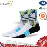 Custom Elite wholesale athletic compression basketball socks coolmax -men's