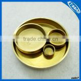 Water drain plug in brass for various size