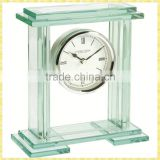 Handmade Unique Exquisite Standard Wall Crystal Glass Clock For New Year Business Gifts Souvenirs