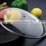 Hot Selling Clear Dome Lid Glass Casserole Lid Cooking Pot Lids