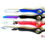 Popular hair razors / barber shaving razors in different colors with changable blade and comfortable handle