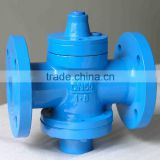 China made cheap price high quality flange connection flange connection lubricated plug valve