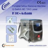 Pigmented Lesions Treatment Q Switch ND Yag Laser Eyeline And Birthmark Removal Machine Q Switched Laser Machine