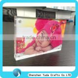 baby photo frame acrylic clear desk picture frame double side glass poster frame