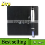 factory supply Korea model 12 needles stainless micro needle therapy electric derma stamp pen skin whitening derma pen
