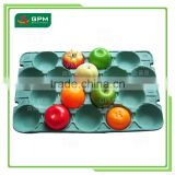 Colorful Pulp Moulded Packaging Trays For Fruit