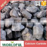 Hot sales excellent quality calcium carbide price, calcium carbide size 50-80mm gas yield 295L