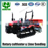 Factory Direct Price Tiller For Sale Tractor Rotary Hoe China Factory Diesel Plough Machine Lime Fertilizer Spreader 2FG-160
