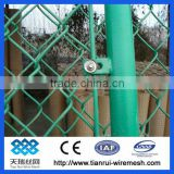 customizable! 1/2'' x 3'' wire mesh fence/ chain link fence/ used factory for sale