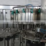 Automatic small carbonated drink filling machines / 3-in-1 machine for soda water rinser,filler and capper