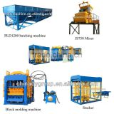 Dongyue machinery high capacity of fly ash brick making machine QT8-15 coal ash brick making machine in india price
