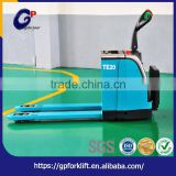 Professional factory supply stepless speed change high efficiency hand electric pallet truck