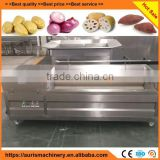 industrial vegetable potato carrot taro cassava ginger yam root washing and peeling washer peeler machine