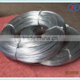 ISO9001 galvanized iron wire 22# electro galvanized wire with low price