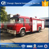 CLW hot high quality low price 4x2 2000 liters 2 tons water tank small fire fighting truck for sale