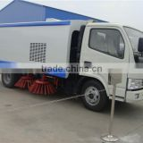 high quality hot sale dongfeng 3 tons RHD street sweeping machine