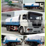 Shacman Shanqi brand 6x4 30000l Sprinkler Water Tank Truck for 30tons capacity Water Bowser Truck with pump system for sale