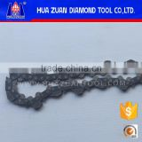 Diamond chain saw spare parts electric power tools chainsaw chain for wall cutting
