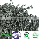 high quality black pc abs regrind plastic material for auto parts