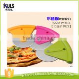 Stainless steel Round pizza wheel plastic cutter