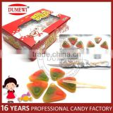 Italy Fruit Jelly Candy Gummy Pizza Candy