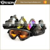 5 Colors PRO Hunting Airsoft X400 Tactical Motorcycle Goggles Military Glasses