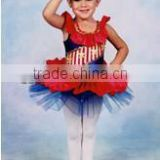 Newly launched kids ballet flower red dancetutu--lace ballet theme girl dancecostume wear-child&adults flower dance skirt dress